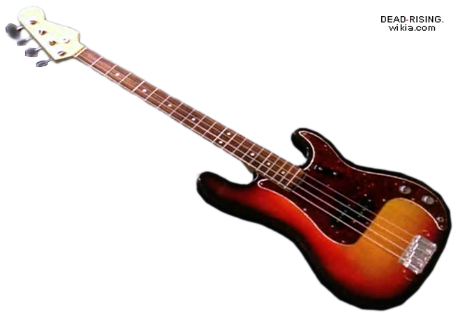 Bass guitar png. Image dead rising wiki