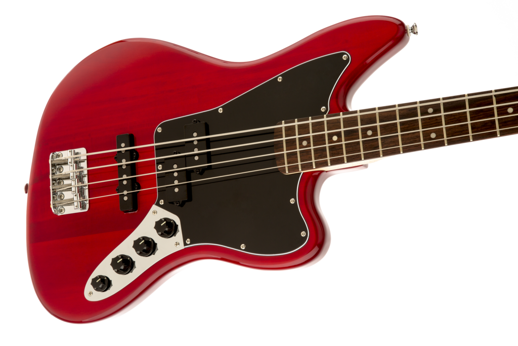 bass transparent crimson