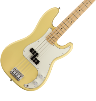 Bass transparent small mouse. Precision fender electric basses