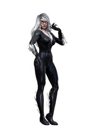 Catwoman transparent black cat marvel. Heroes joins marvelheroescom