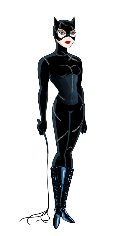 catwoman transparent justice league unlimited