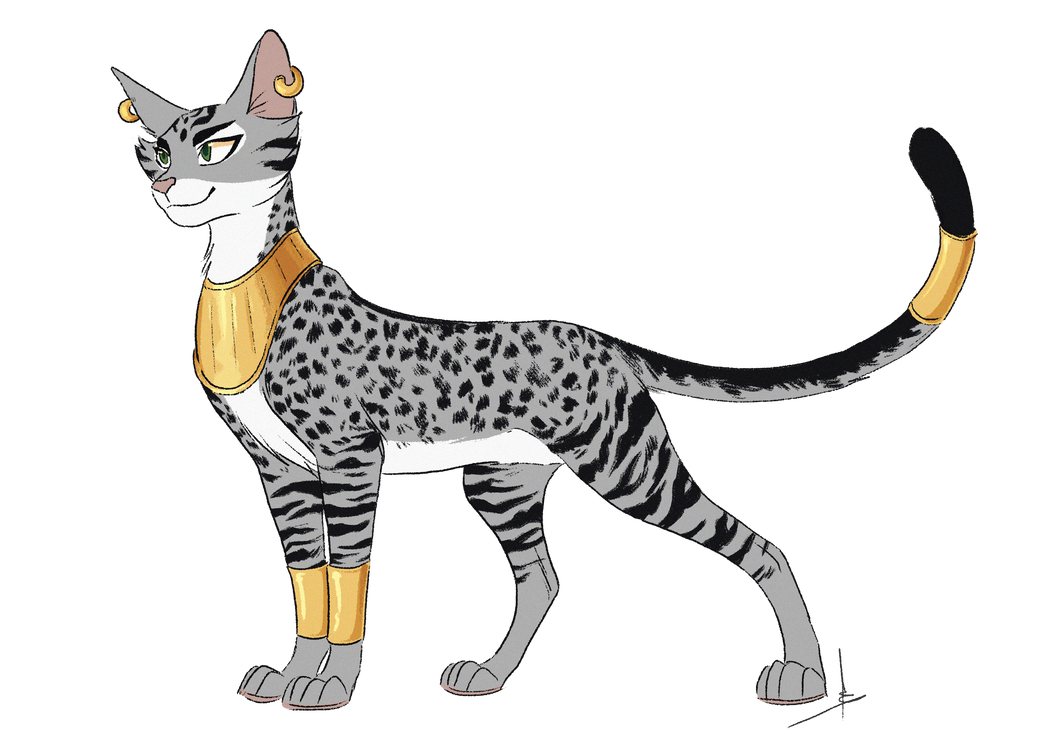 Commission by owlcoat on. Bastet drawing eye clipart library library