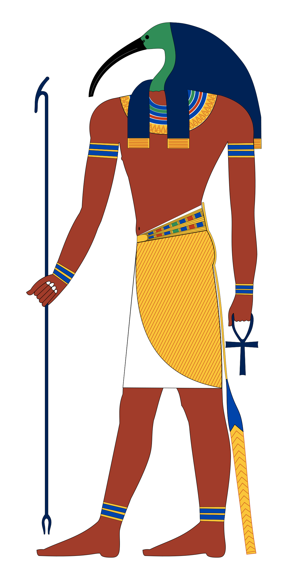 Bastet drawing easy. Thoth wikipedia