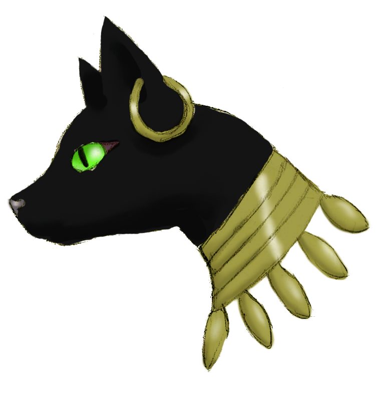 Cat at getdrawings com. Bastet drawing egyptian mau png free