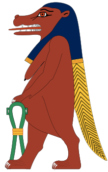 Taweret wikipedia the portrayed. Bastet drawing female goddess svg