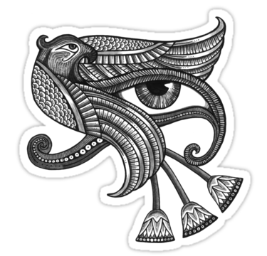 Eye of horus style. Larry drawing tattoo clip library