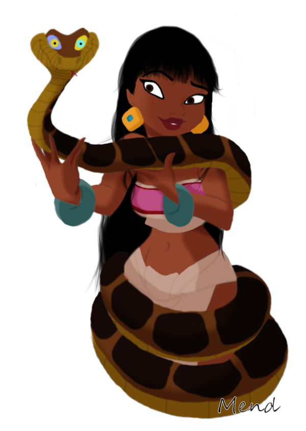 Bastet drawing realistic. Kaa and chel request