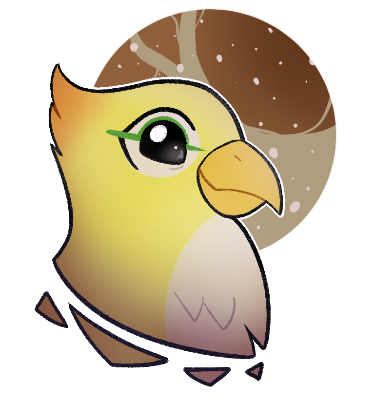 Bastion drawing bird. The audrameda galaxy pm