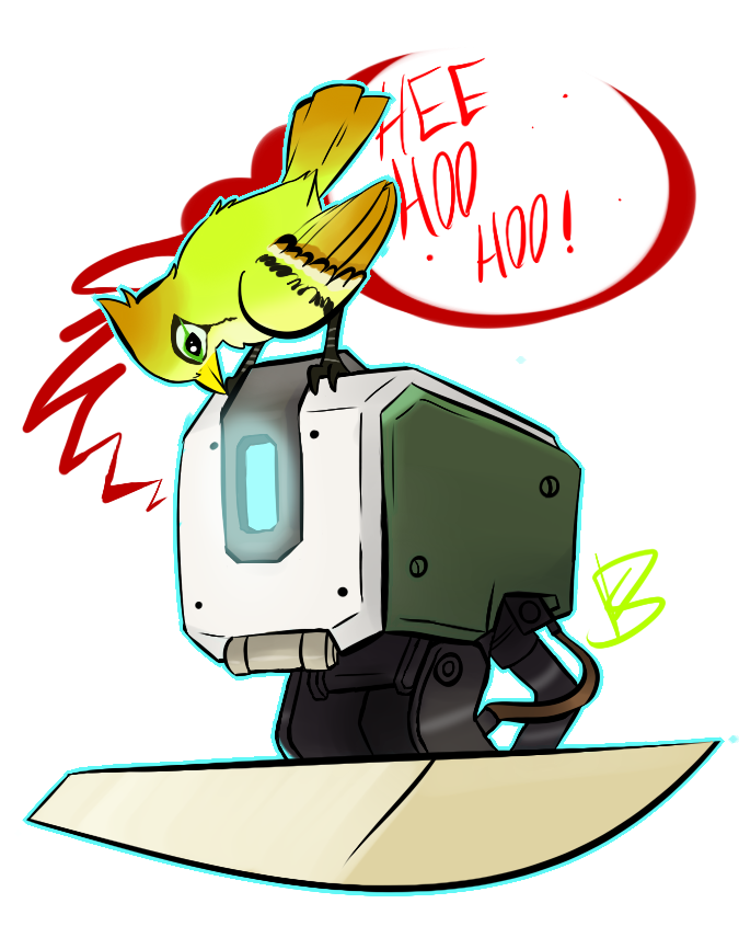 Bastion drawing adorable. And ganymede by dinosam