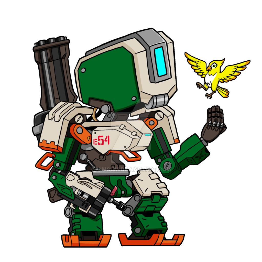 Bastion drawing zenyatta. By iamsum on deviantart