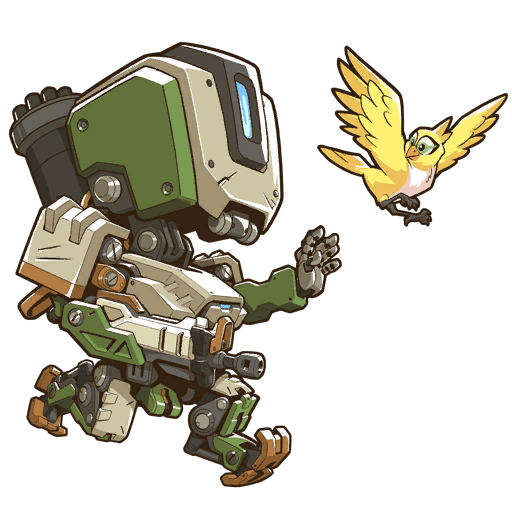 Bastion drawing bird. D va guide gameplay