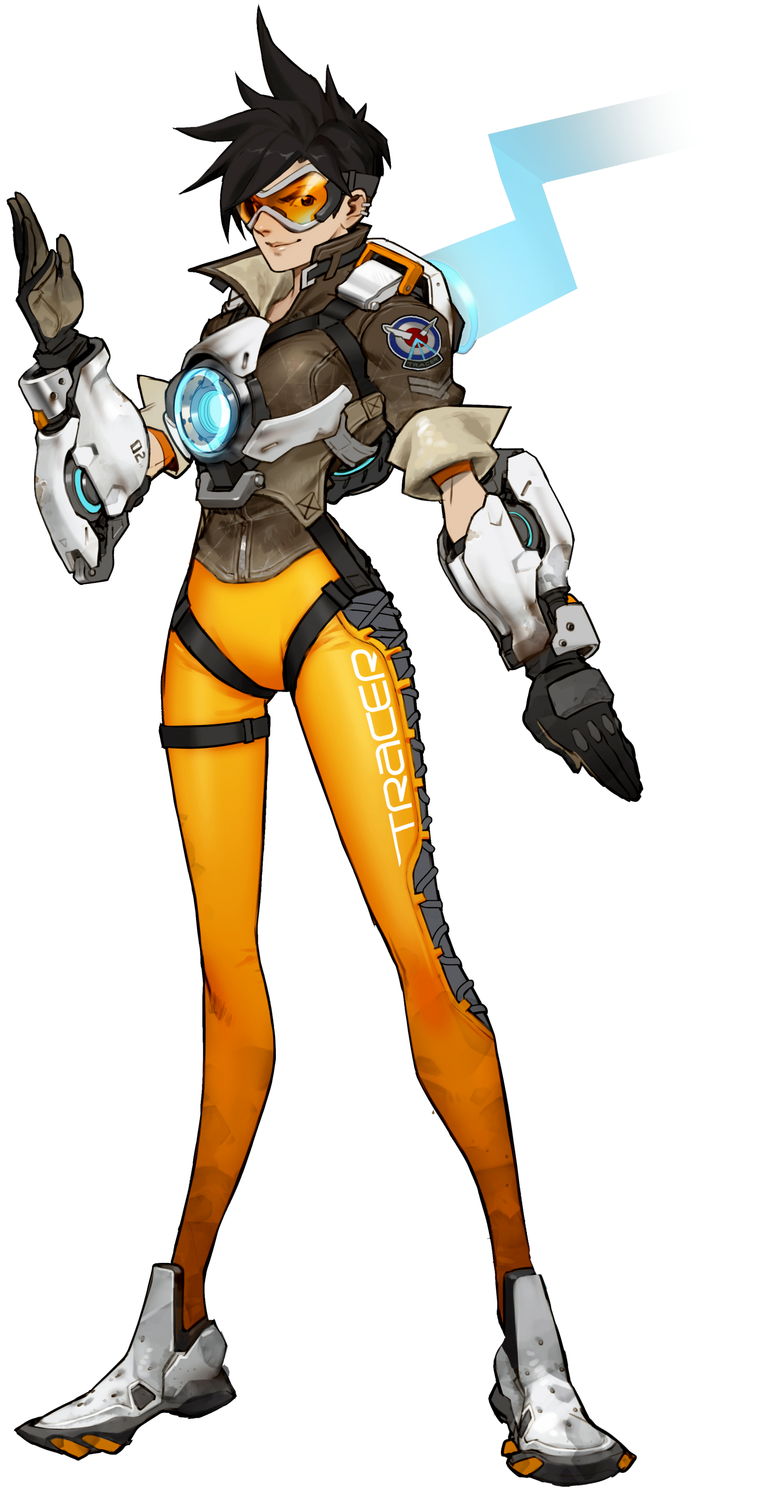 Bastion drawing concept art. Tracer overwatch game pinterest