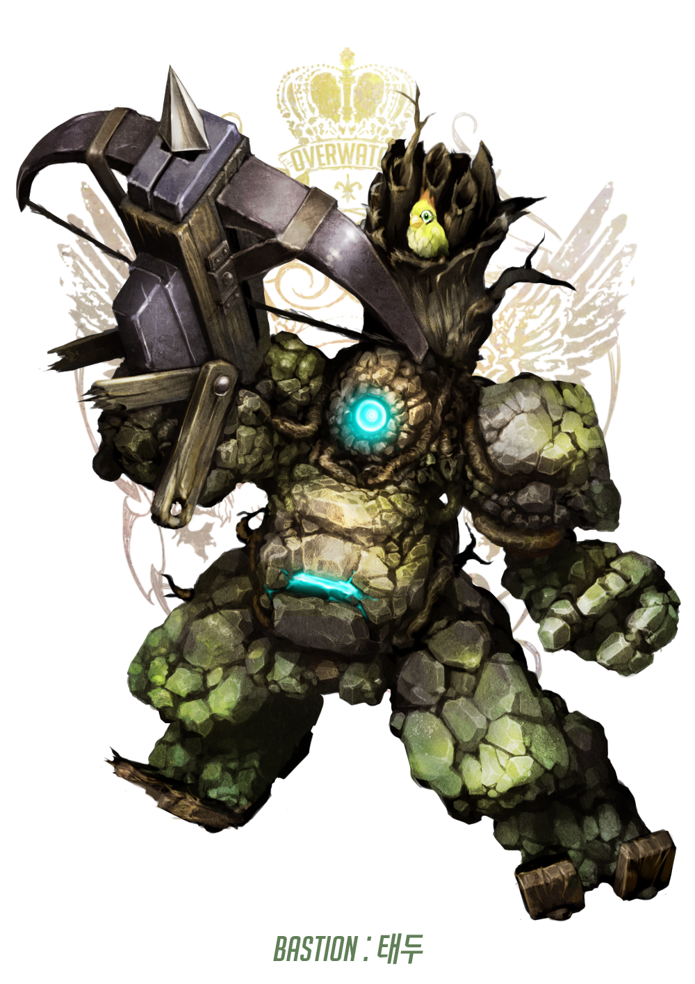 Bastion drawing mecha. Pinterest overwatch