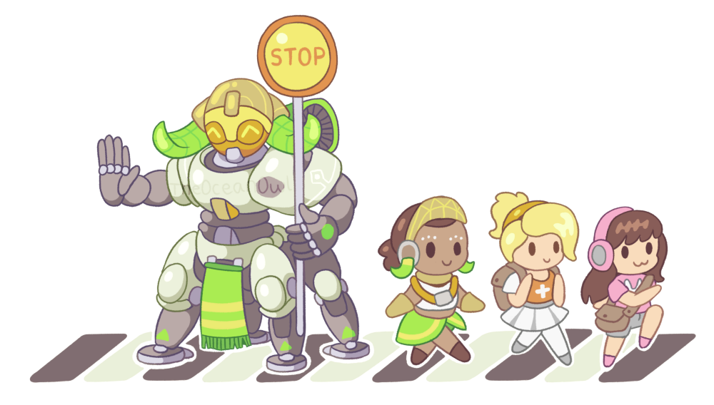 Bastion drawing orisa. This is just to