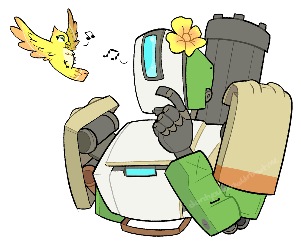 Bastion drawing bird. By itsaaudraw on deviantart