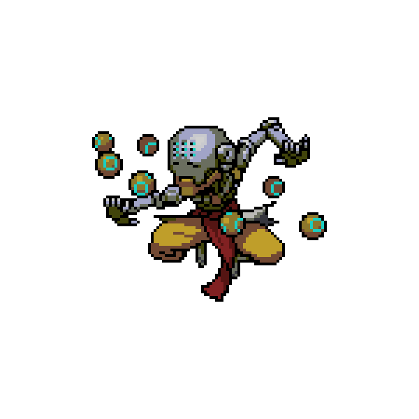 Bastion spray png. All overwatch pixel sprays