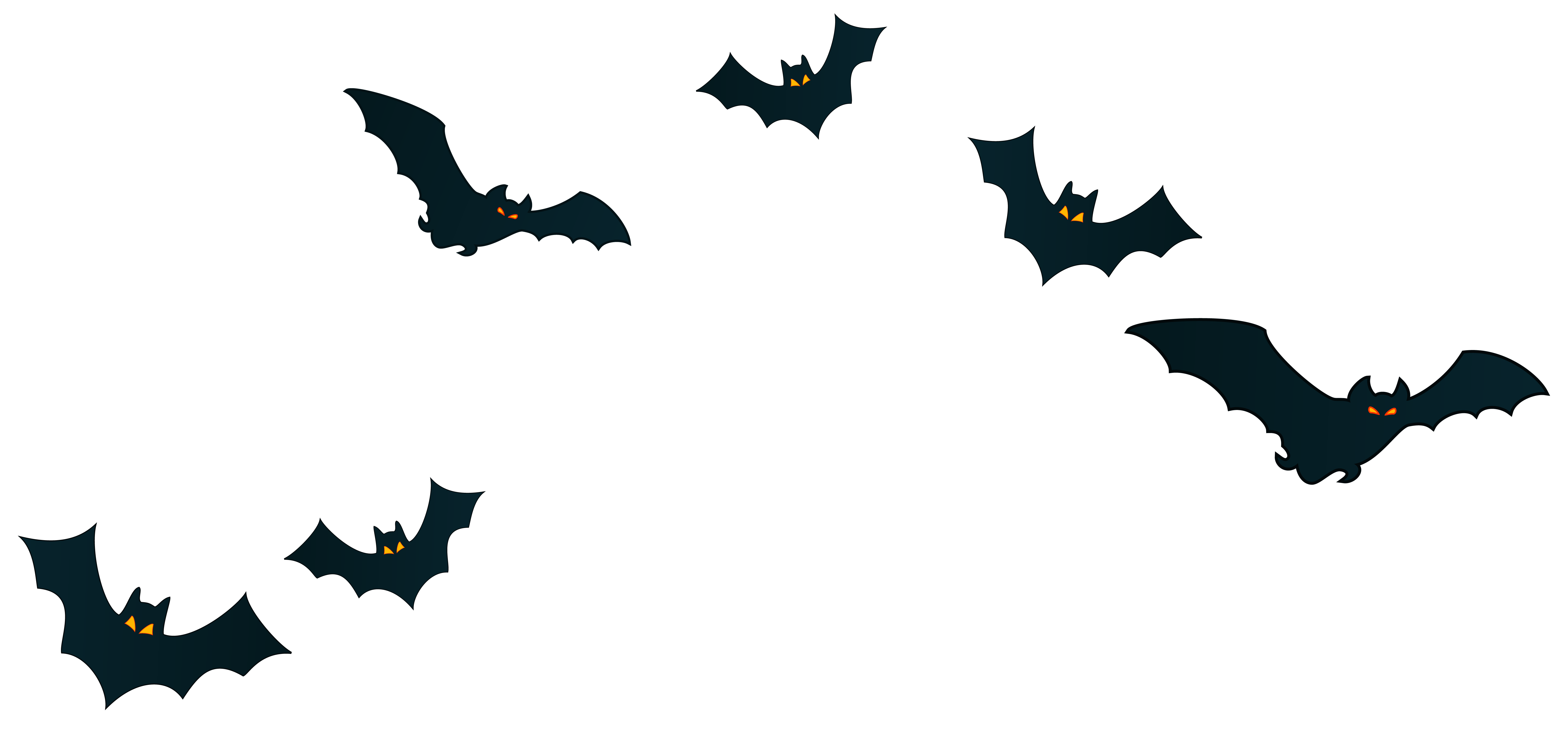 Bat clipart transparent background. Halloween bats decor png