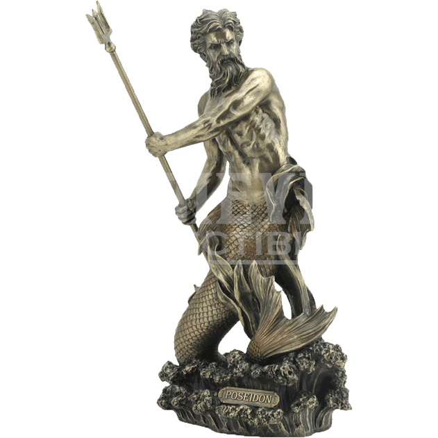Bat statue png. Poseidon wu from medieval