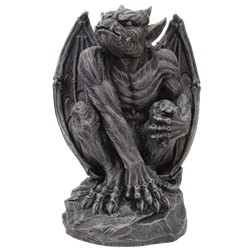 Monster statue png. Gargoyle statues medieval and