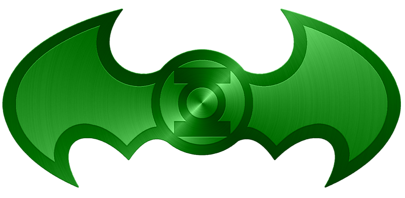 Batarang drawing. Green lantern batman by