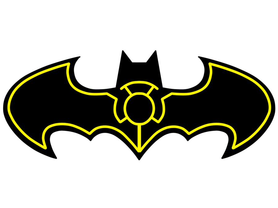 Batarang drawing sign. How to draw batman