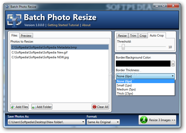 Batch resize png. Download photo