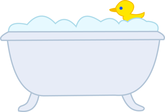 rubber ducky clipart bathtub