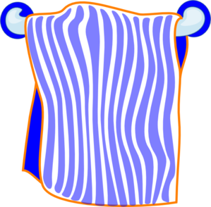 towel vector cartoon