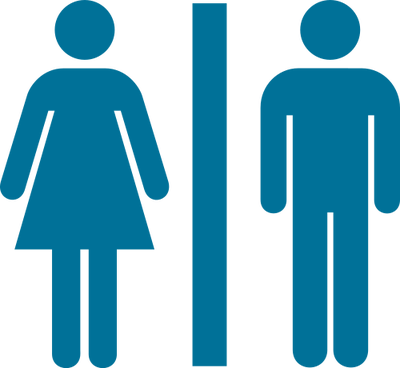 Free male bathroom symbol. Person svg restroom banner library