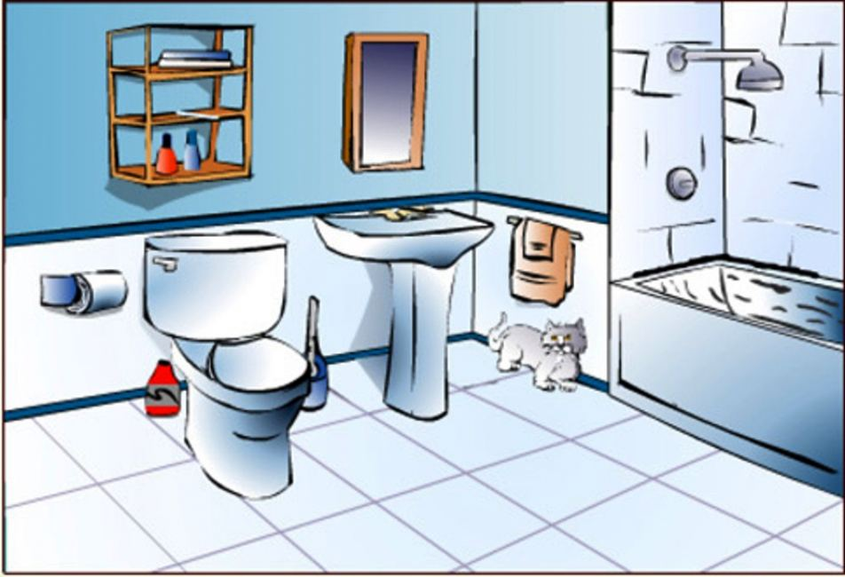 Bathroom clipart. For kids free images