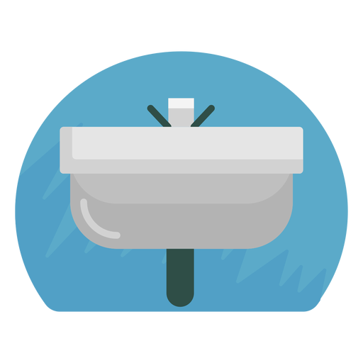 Bathroom vector background. Sink icon transparent png