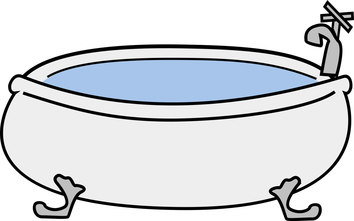Tub Black And White Transparent Png Clipart Free Download Ya
