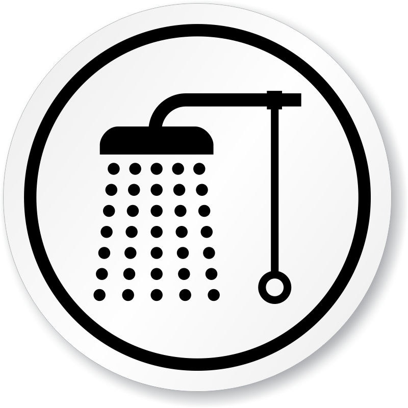 shower vector bathing
