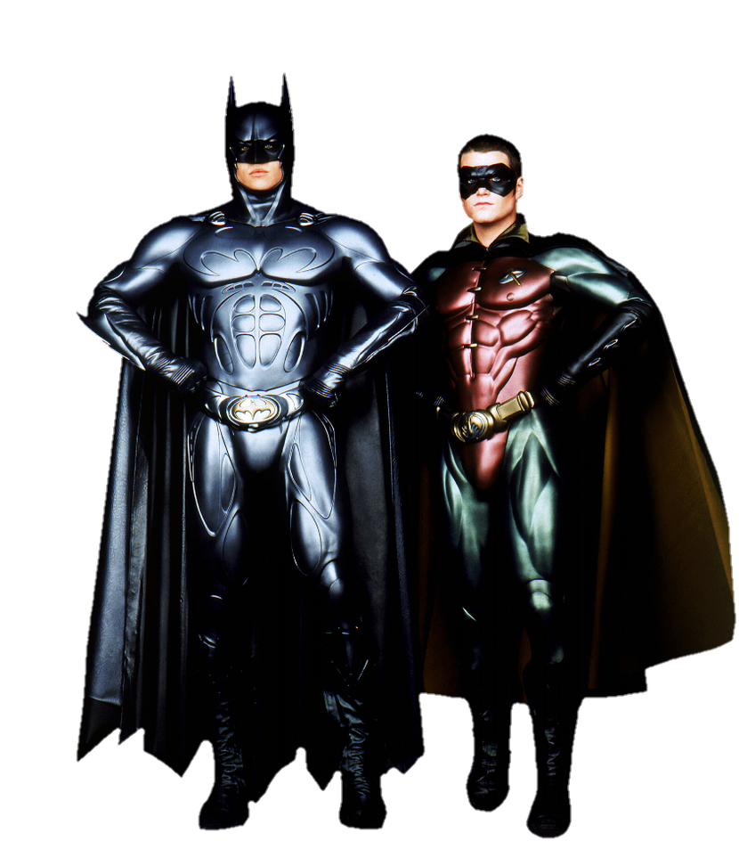 Batman robin png. Forever and by metropolis