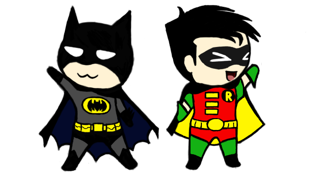 Batman and robin png. Collection of clipart