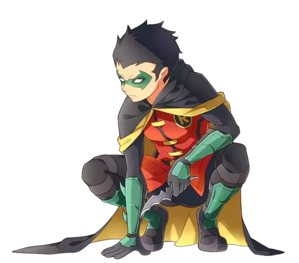 Batman and robin png. Which of the four