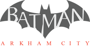 Batman logos png. Arkham city logo vector