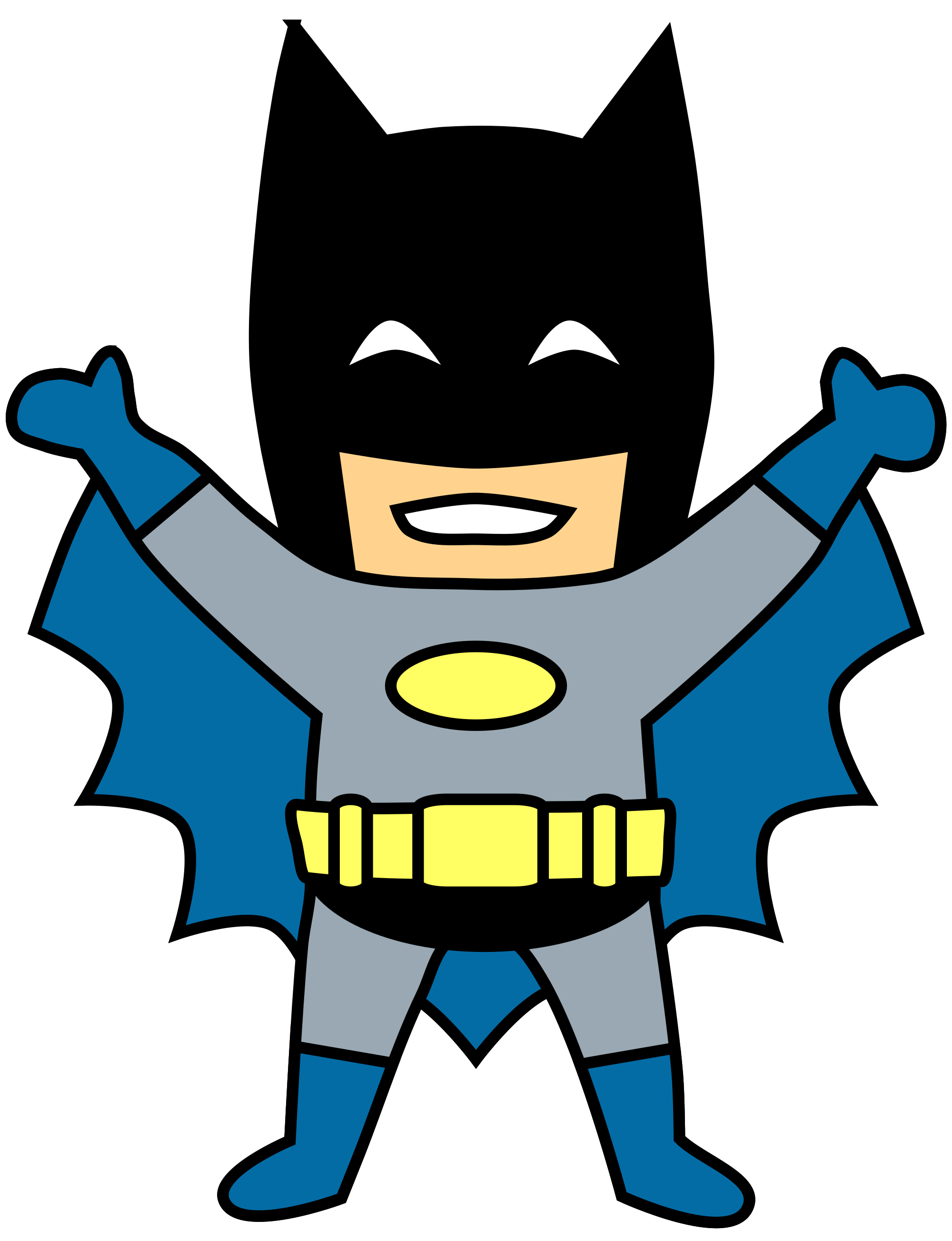 Picture clipart. File batman svg wikimedia