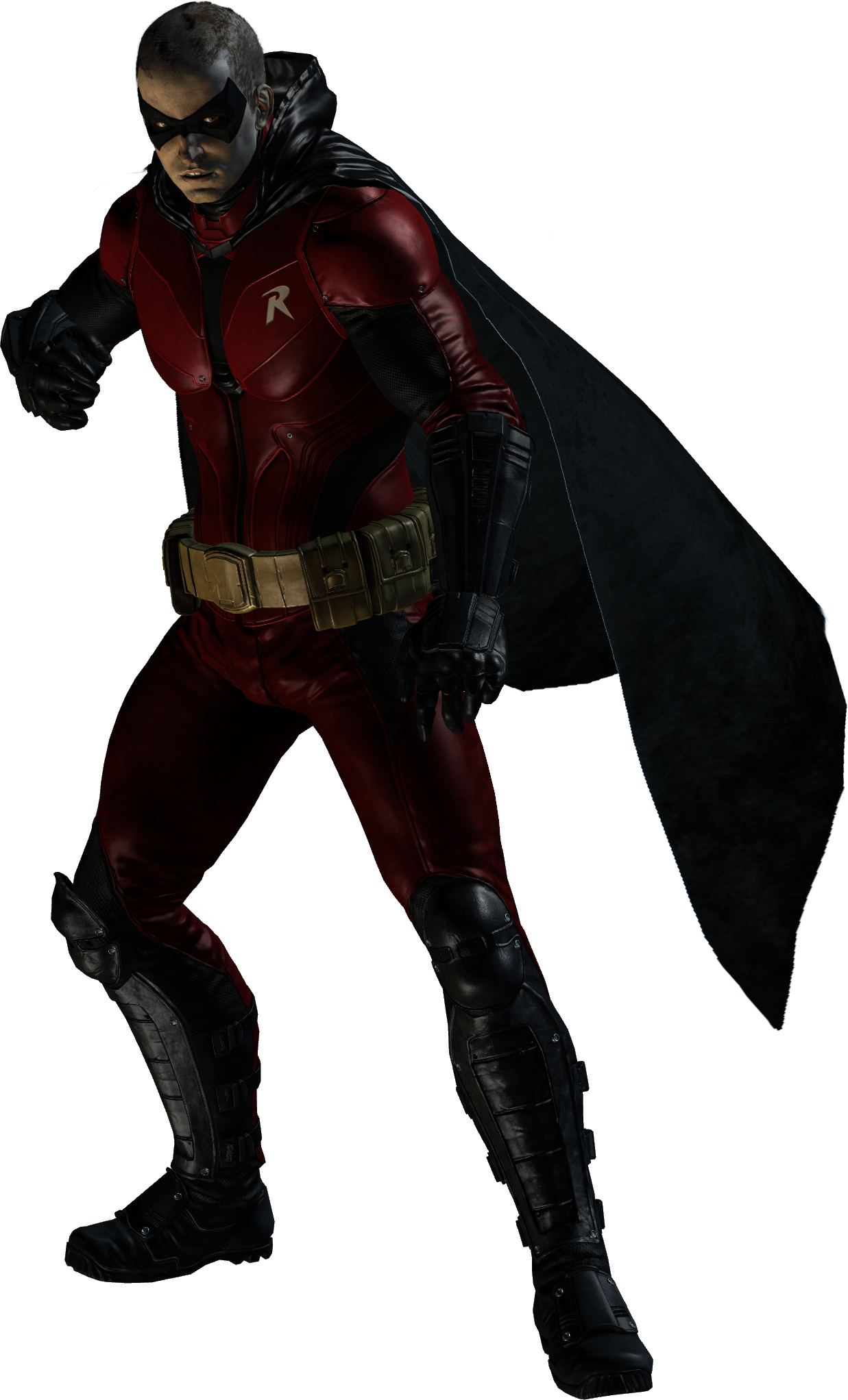 Batman forever robin suit png. Image jason todd red