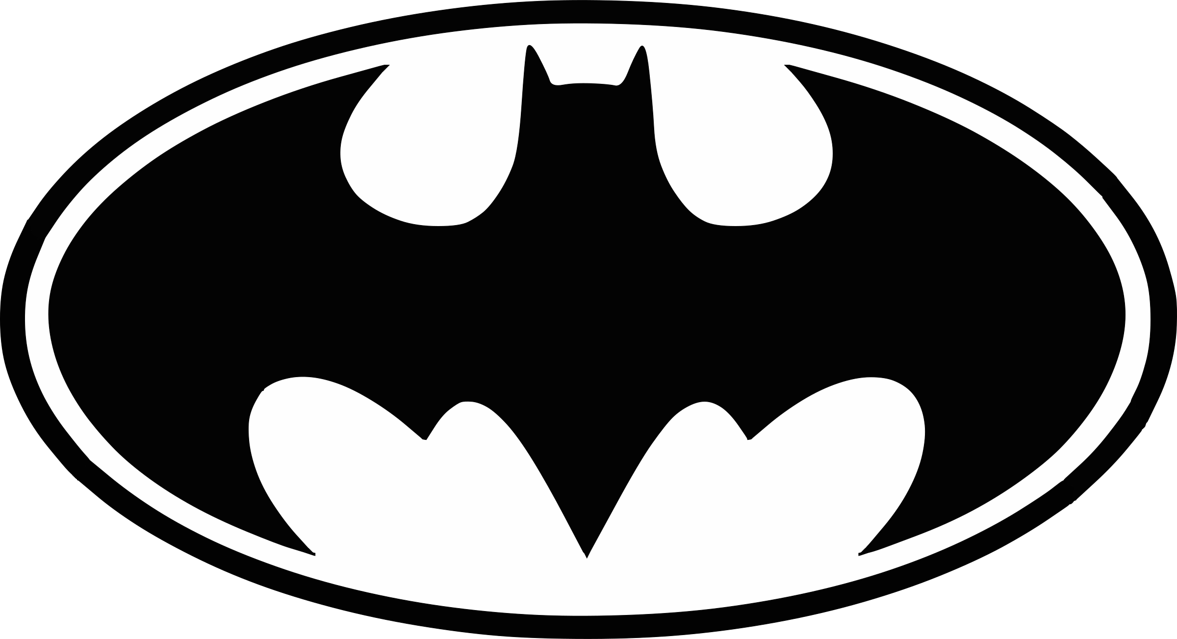 Batman logo png. Transparent svg vector freebie