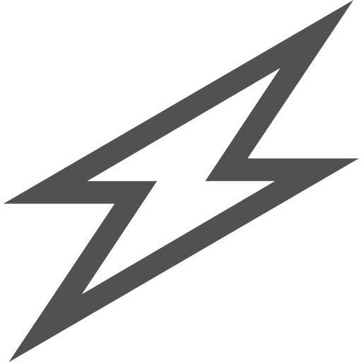 Lightning svg electricity. Charge battery power icon