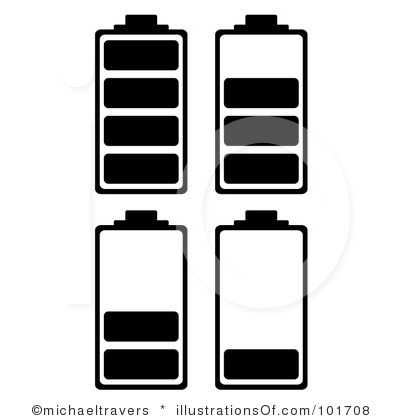 Battery clipart. Rf panda free images