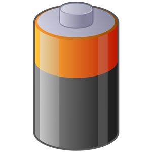 Battery clipart. Panda free images
