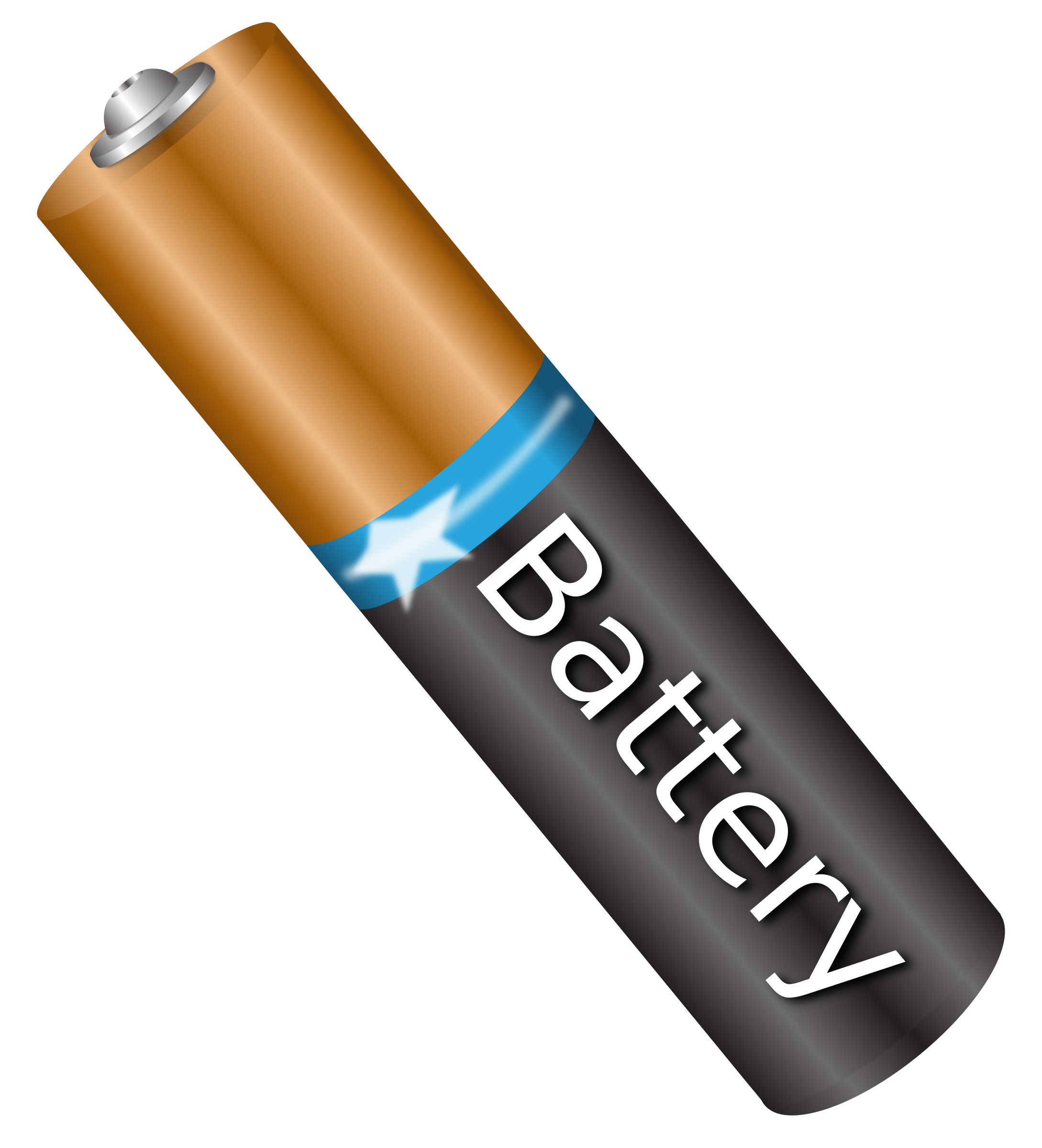 Battery clipart battery cell. Aaa big image png