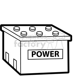 Battery clipart battery cell. Royalty free black white