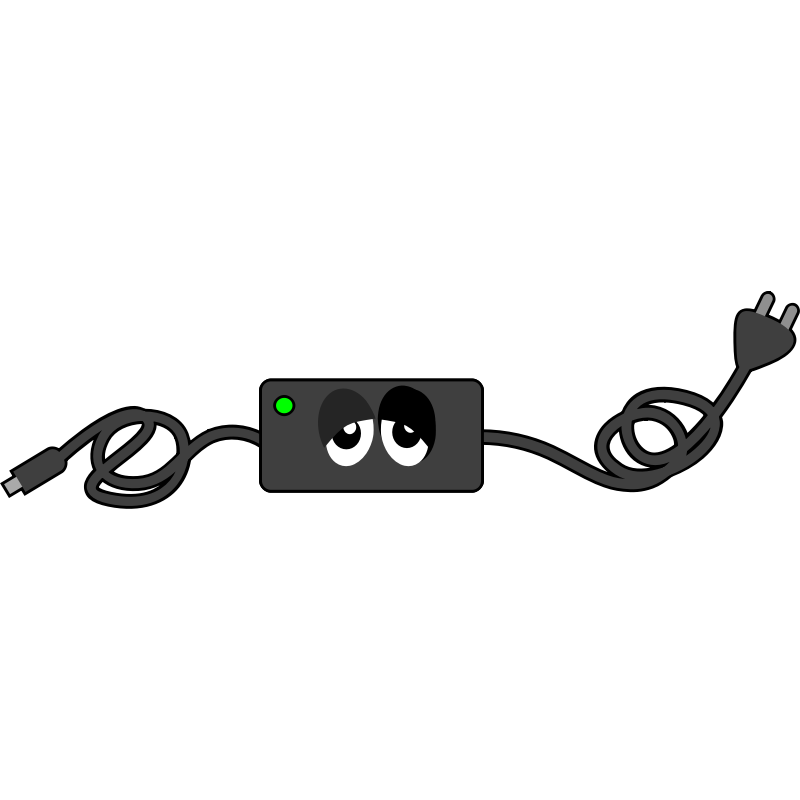 Power clipart computer charger. Free cliparts download clip