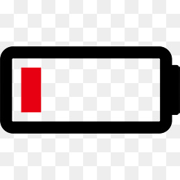 battery clipart low battery