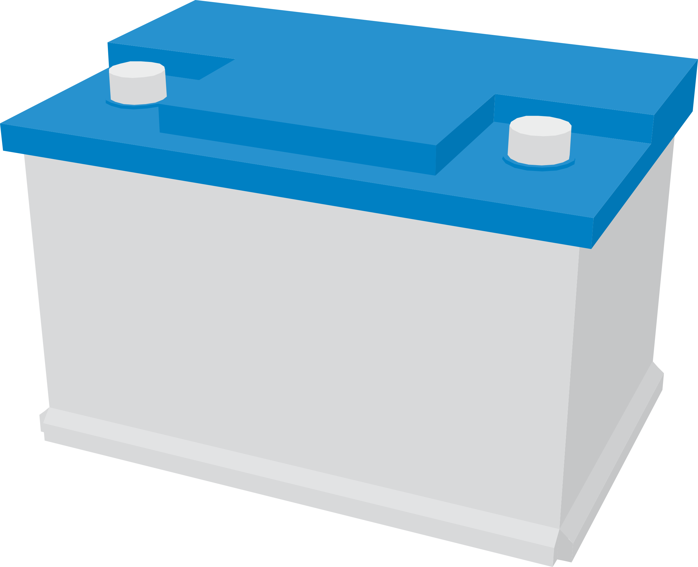 Battery clipart vehicle battery. Car big image png