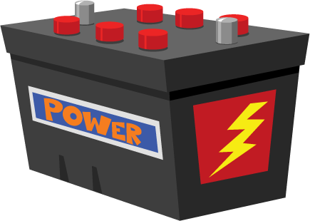 Battery clipart vehicle battery. Free car cliparts download