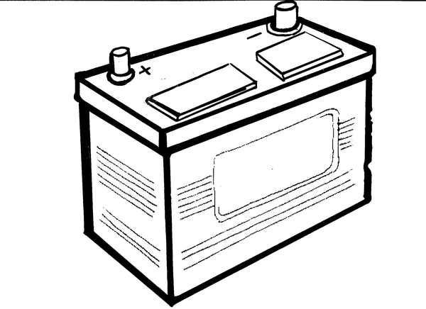 Battery clipart vehicle battery. Free images at clker